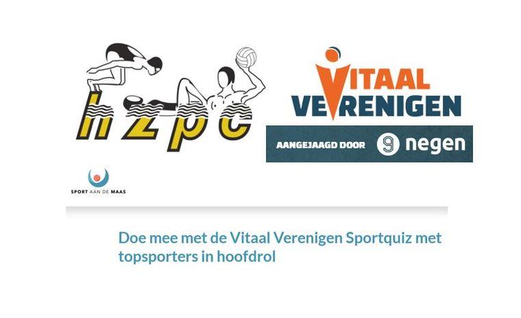 Sportquiz Sport aan de Maas (15 mei a.s.)